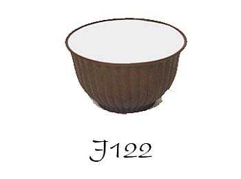 Brown Zisha Glazed Tea Cup (Set of 4)