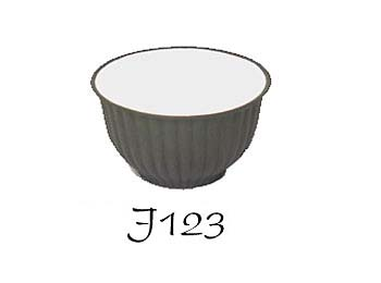 Black Zisha Glazed Tea Cup (J123)